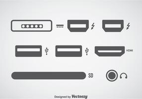Computer Connection Icons Sets