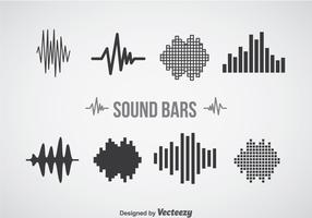 Sound Bars Icons Sets