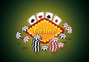 Casino Royale Poker Premium Quality Illustration Vector