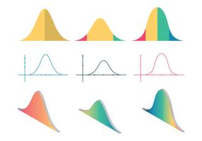 Free Bell Curve Vector Illustration