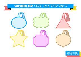 Wobbler pacote de vetores grátis