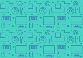 Free Gadget and Technology Vector Pattern #1