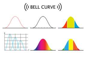 Free Bell Curve Vector