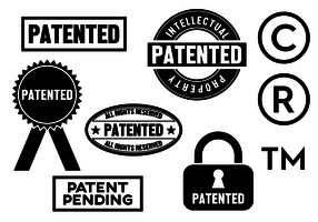Free Patent Vector