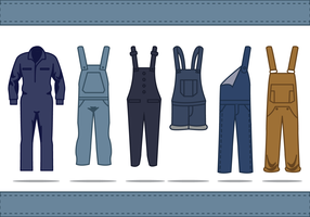 Free Overalls Vector