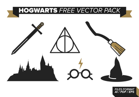 Hogwarts Free Vector Pack