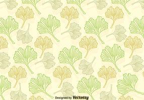 Padrão de folhas de Ginkgo