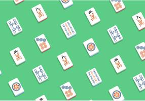 Mahjong Vector Pattern