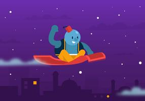 Vector Magic Carpet Ride Background