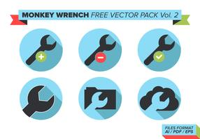 Monkey Wrench Free Vector Pack Vol. 2