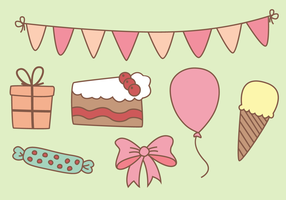 Free Party Elements Vector