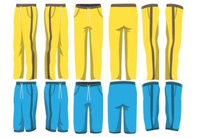 Sweatpants Vector Pack