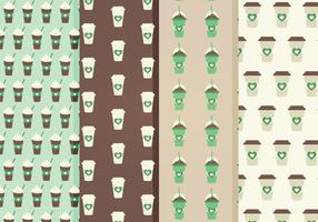 Free Coffee Vector Patterns