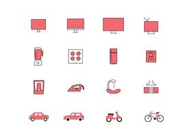 Color Full Multipurpose Vector Icons