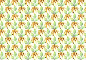 Free Vector Watercolor Summer Pattern