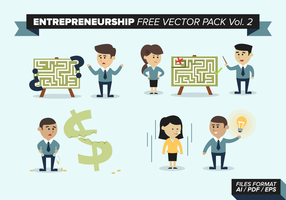Entrepreneurship Free Vector Pack Vol. 2