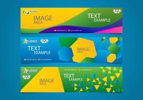 Brasil Olympics Banners Vectorial Editable