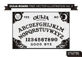 Ouija Board Free Vector Illustration Vol. 3