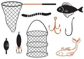 Free Fishing 2 Vectors