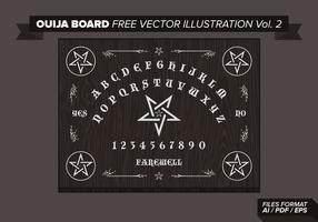 Ouija Board Free Vector Illustration Vol. 2
