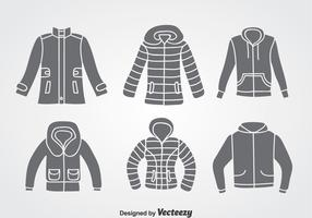 Winter Coat Vector Sets
