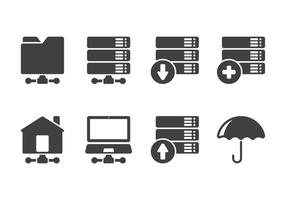 Minimalist Server Icon