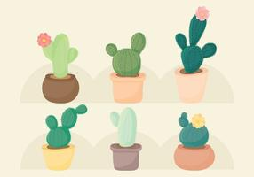 Vector Cacti Set