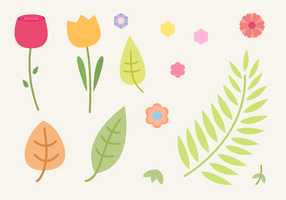 Free Natural Elements Vector