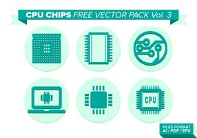 Cpu Chips Free Vector Pack Vol. 3