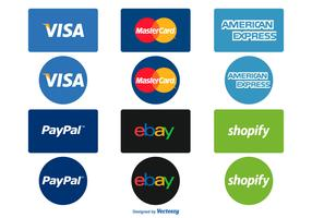 Payment Options Icon Set