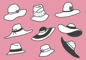 Free Style Illustration Hats Vectors