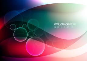 Free Colorful Waves Vector Background