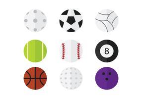Sport Ball Vector Pack