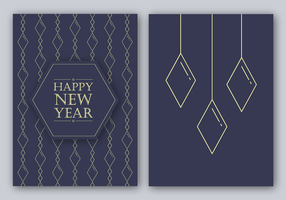 Free Happy New Year Card Vector