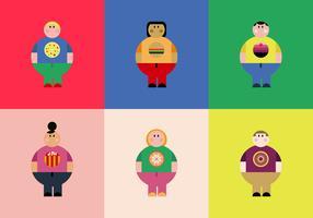 Free Overweight People Vectors