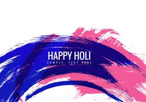 Free Holi Colorful Vector Background