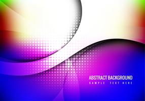 Free Colorful Wave Background Vector
