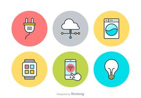 Free Internet Of Things Vector Icons