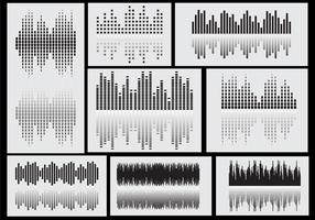 Sound Bars Icon Vectors