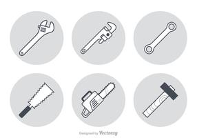 Free Working Tools Vector Icons