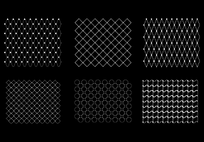 Free Fish Net Pattern Vector