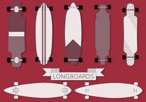 Free Longboard Vector