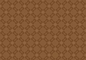 Free Batik Pattern Vector #9