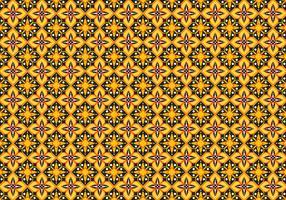 Free Batik Pattern Vector #6