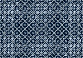 Free Batik Pattern Vector #10
