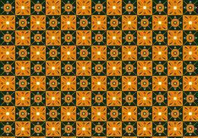 Free Batik Pattern Vector #4