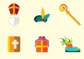 Sinterklaas Icon Vector