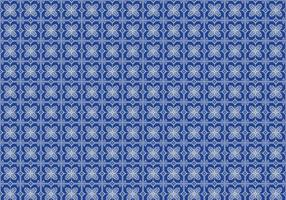 Free Batik Pattern Vector #8