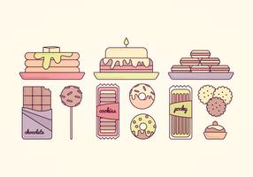 Vector Sweets Illustration