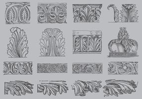Acanthus Ornament Vectors